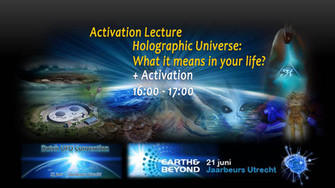 Activation Lecture @ Earth & Beyond Conference 21-06-2014 Jaarbeurs Utrecht