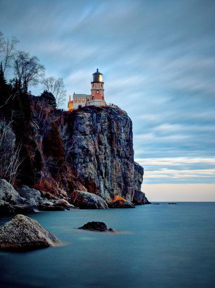 Light House on Lake Superior