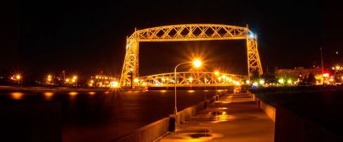 Lift Bridge in Canal Park, Duluth Minnesota