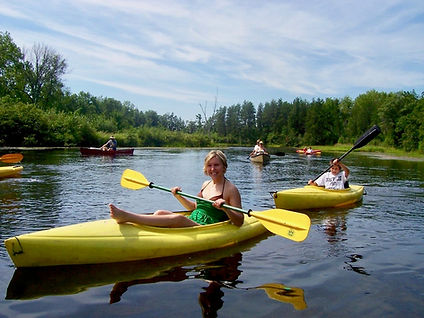 Canoeing and Kayaking the Brule River in Wisconsin