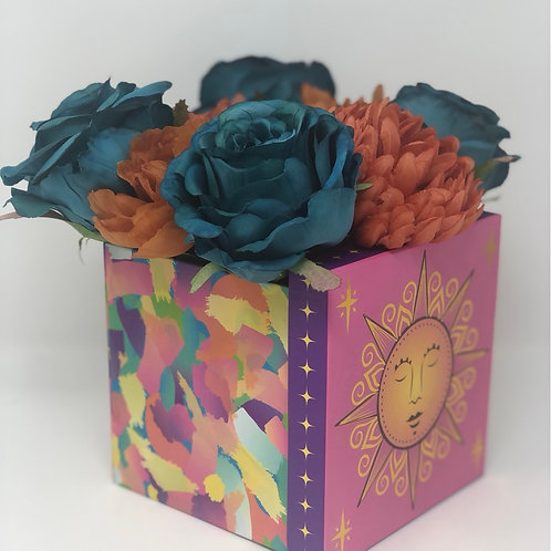 Colorful Flower Box