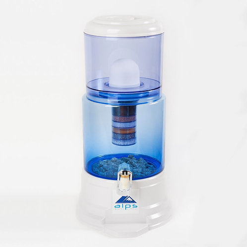 Alps Water Filters 18 L Glass White