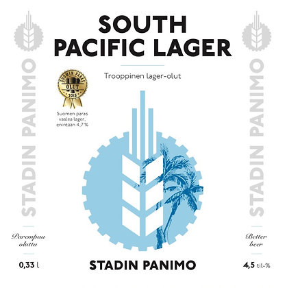 South Pacific Lager