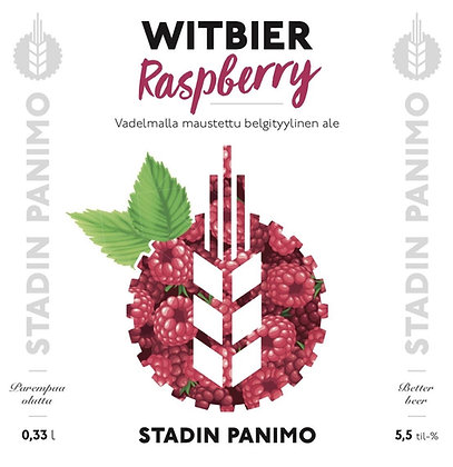 Raspberry Witbier