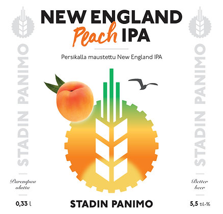 New England Peach IPA