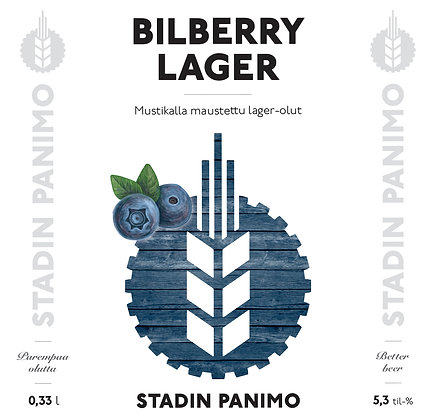 Bilberry Lager