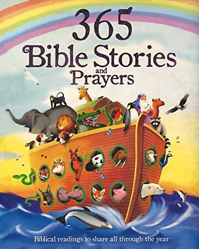 365 BIBLE STORIES AND PRAYERS - Inglés