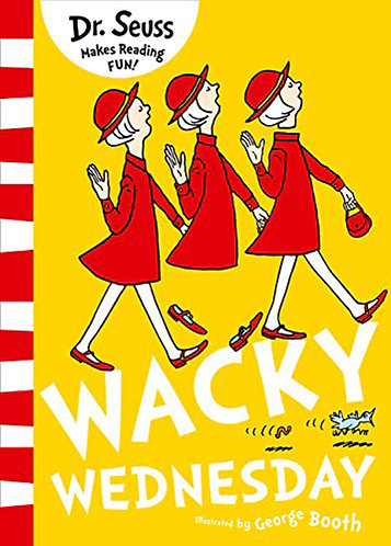 WACKY WEDNESDAY (DR. SEUSS) - Inglés