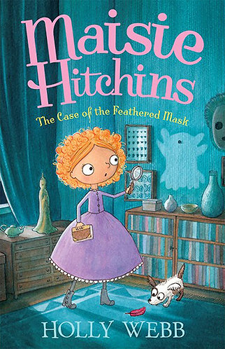 MAISIE HITCHINS AND THE CASE OF THE FEATHERED MASK - Inglés