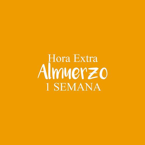 Hora Extra Almuerzo 1 SEMANA