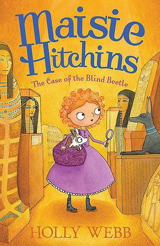 MAISIE HITCHINS AND THE CASE OF THE BLIND BEETLE - Inglés