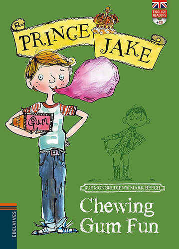 CHEWING GUN FUN PRINCE JAKE + CD - Inglés