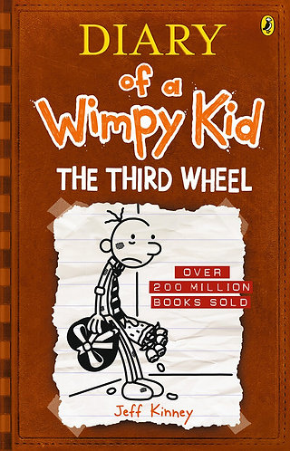 THE THIRD WHEEL (Diary of a Wimpy Kid) - Inglés