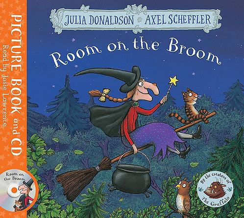 ROOM ON THE BROOM + CD - Inglés