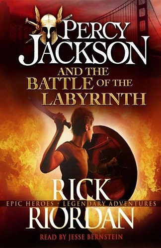 PERCY JACKSON AND THE BATTLE OF THE LABYRINTH - Inglés