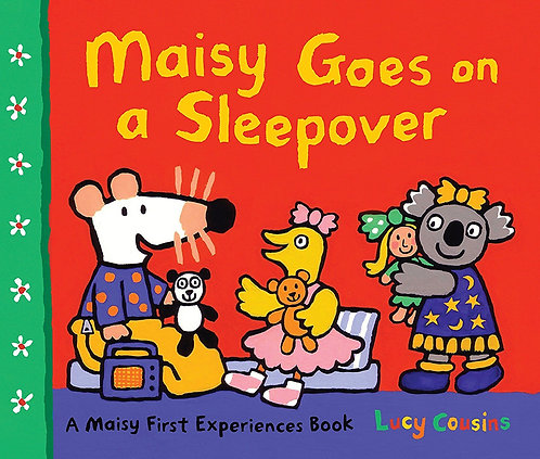 MAISY GOES ON A SLEEPOVER - Inglés