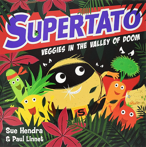 SUPERTATO, VEGGIES IN THE VALLEY OF DOOM - Inglés