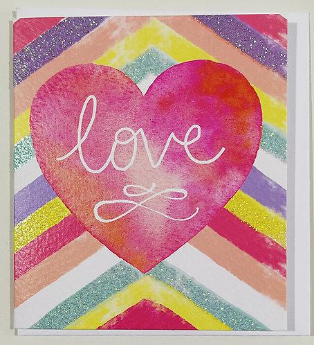 Mini Tarjeta Felicitación Rachel Ellen Designs - Love