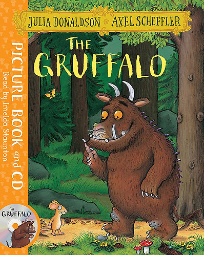 THE GRUFFALO JULIA DONALDSON + CD - Inglés