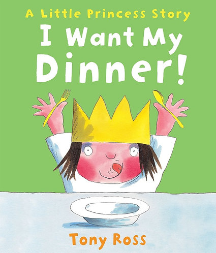 I WANT MY DINNER!- Inglés