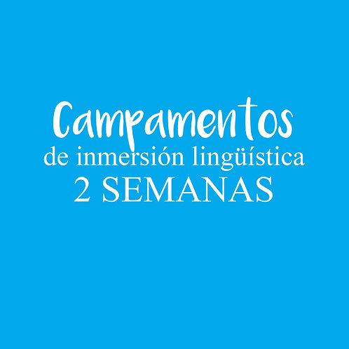 CAMPAMENTO de inmersión lingüística 2 SEMANAS