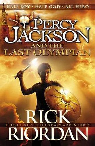 PERCY JACKSON AND THE LAST OLYMPIAN - Inglés