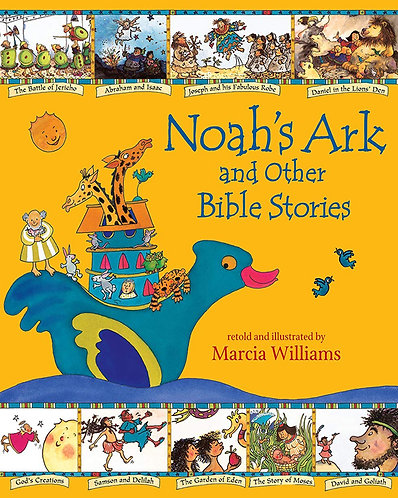 NOAH´S ARK AND OTHER BIBLE STORIES - Inglés