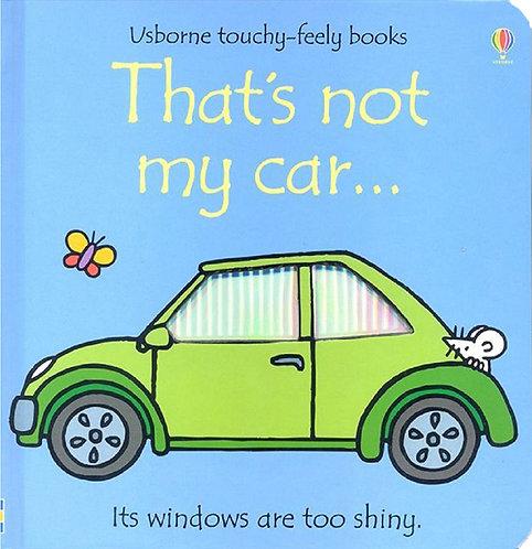 THAT´S NOT MY CAR - Inglés