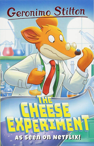 GERONIMO STILTON - THE CHEESE EXPERIMENT - Inglés