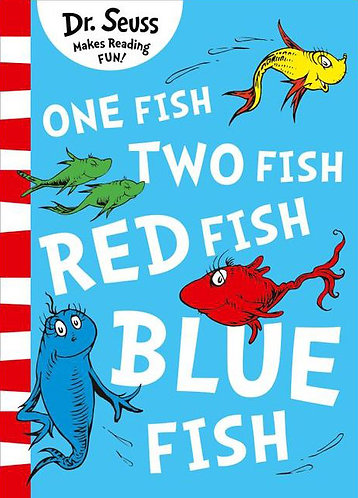 ONE FISH, TWO FISH, RED FISH, BLUE FISH (DR. SEUSS) - Inglés