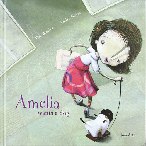 AMELIA WANTS A DOG - Inglés