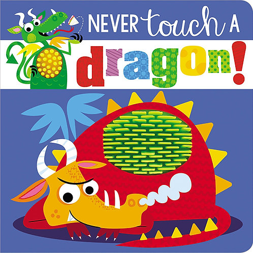 NEVER TOUCH A DRAGON - Inglés