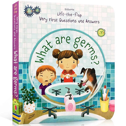 WHAT ARE GERMS? LIFT THE FLAP - Inglés