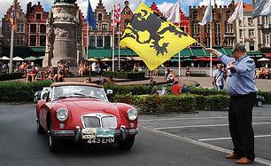 Belgian Classic Car rally main web image