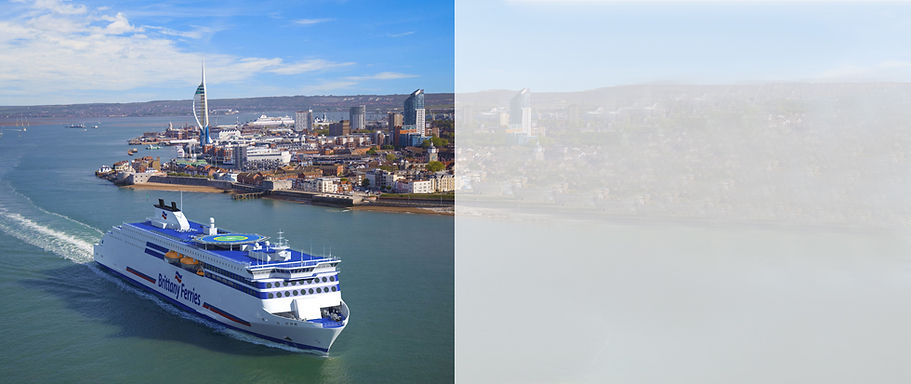 Brittany ferries Portsmouth Itinerary we