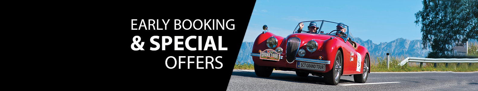 Early Booking & Special offers Web heade