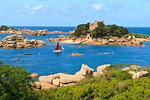 Brittany Cote de granite Rose France 119