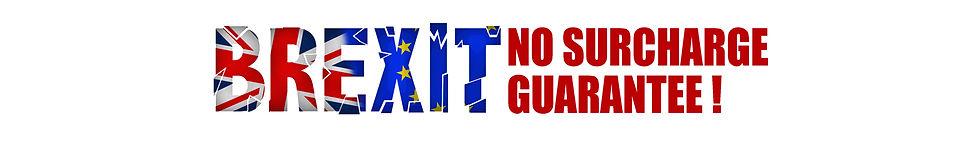 Brexit No surcharge Guarantee web header