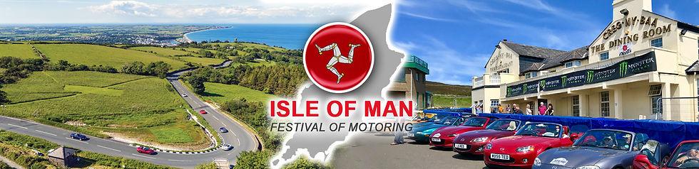 Isle of Man Festival of Motoring banner