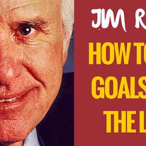 """Jim Rohn """"Power of Dream & Goal"""""""