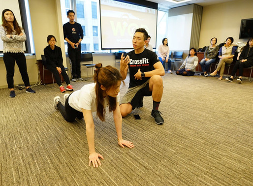 Employee Engagement Series - Physical Fitness at Workplace