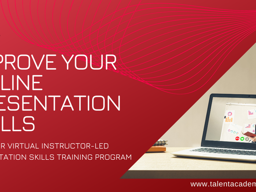 Presenting Online with Impact is not Rocket Science. Hone Your Virtual Presentation Skills to Excel.