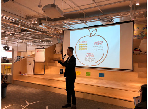 """Using """"Design Thinking"""" to Give an Employee-centric Onboarding Experience to New Joiners"""