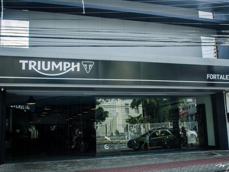 Triumph inaugura em Fortaleza (CE) a sua 17ª Concessionária no Brasil