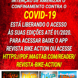 Coronavírus: Revista Bike Action disponibiliza assinatura digital gratuita
