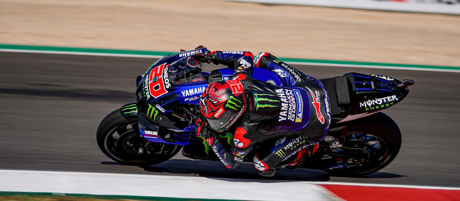 MotoGP - Quartararo vence em Portugal e assume a liderança