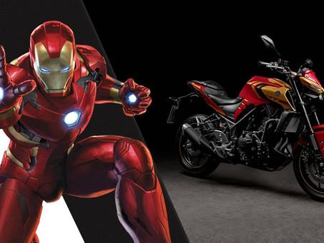 Yamaha lança MT-03 Homem de Ferro