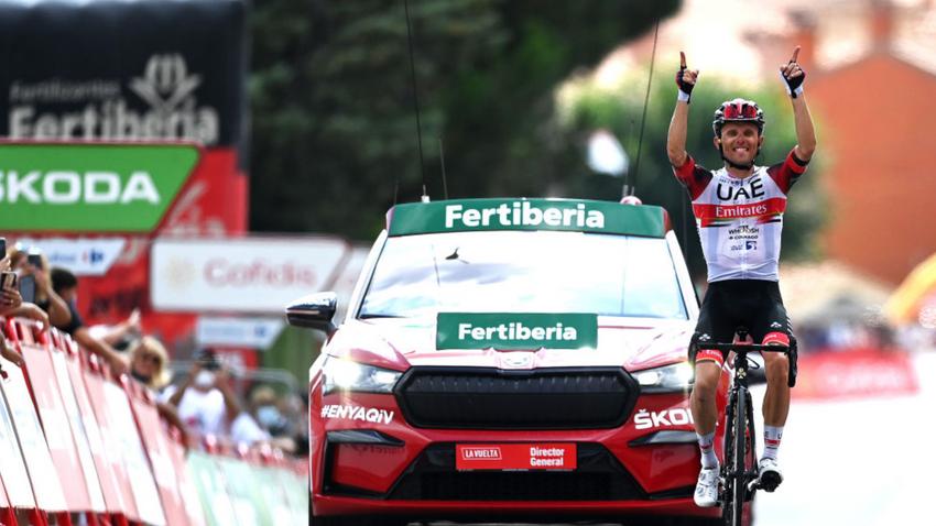 Vuelta a España: Majka vence a 15ª etapa