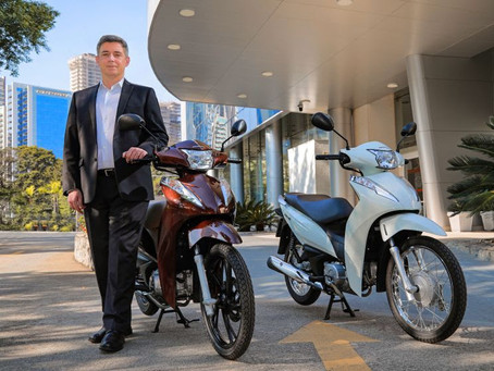Honda Biz - 4 milhões de unidades produzidas