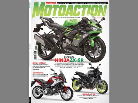 NOVA MOTOACTION - ABRIL - ESPECIAL KAWASAKI NINJA ZX-6
